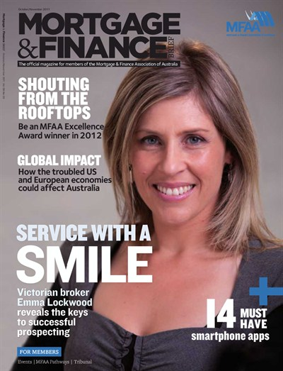 Mortgage and Finance magazine cover